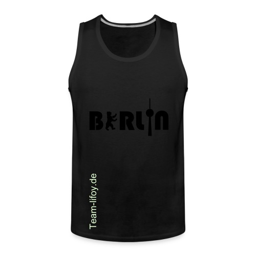 Berlin Fan shirt - Männer Premium Tank Top
