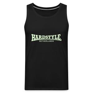 Hardstyle Netherlands - Glow in the dark - Men's Premium Tank Top