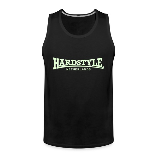 Hardstyle Netherlands - Glow in the dark - Men's Premium Tank Top