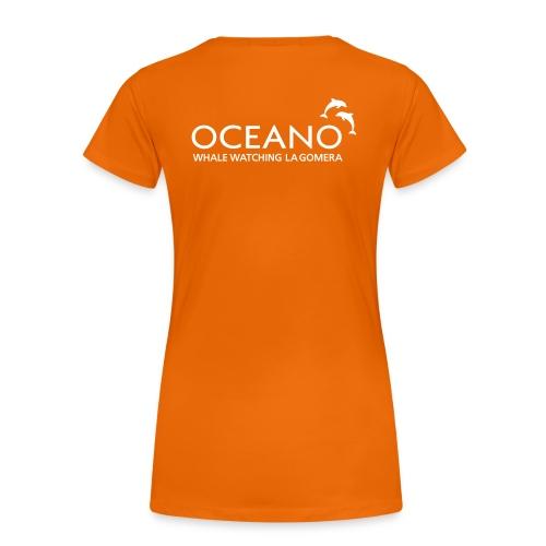 OCEANO Frauen T-Shirt - Frauen Premium T-Shirt
