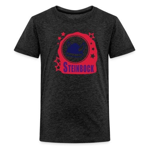 Kids Sternzeichen Steinbock - Teenager Premium T-Shirt