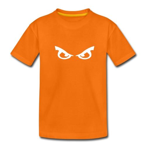 Mad Eyes (white) - Teenage Premium T-Shirt