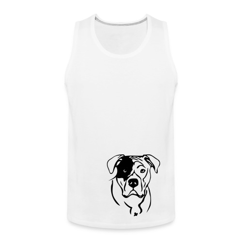 tank top - am bulldog - Premiumtanktopp herr