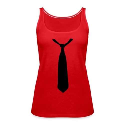 Cravate Girl - Débardeur Premium Femme