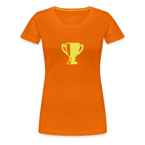 Dames Kampioens-shirt - Vrouwen Premium T-shirt