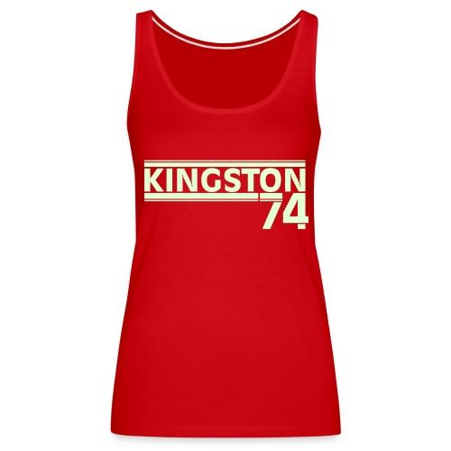 KINGSTON 74 PHOSPHORESCENT - Débardeur Premium Femme