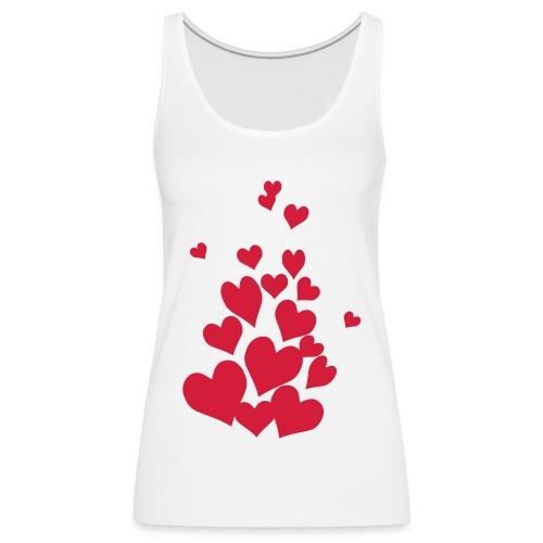 love is al around - Premium singlet for kvinner