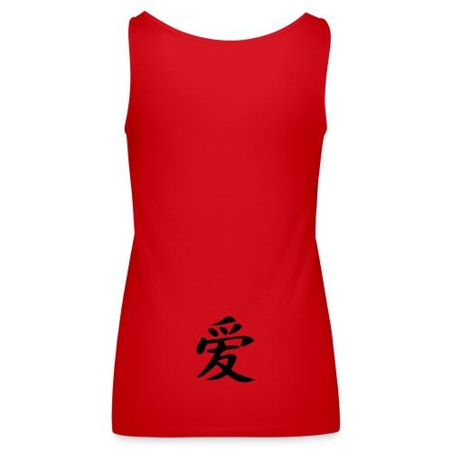 debardeur chinois - Débardeur Premium Femme