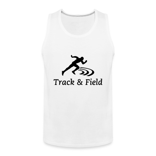 Track and field Sleeveless (black) - Débardeur Premium Homme
