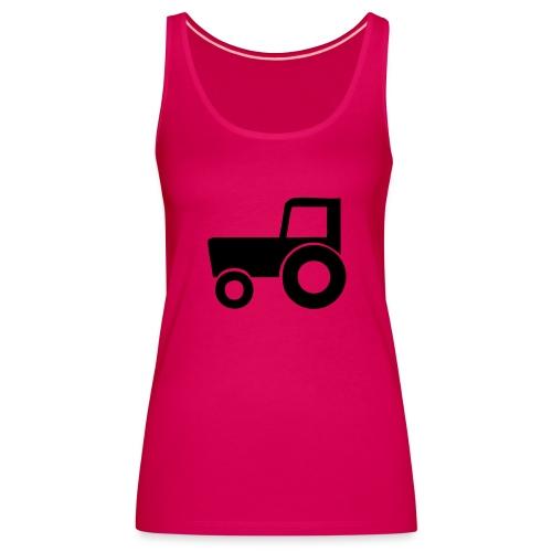 Traktoreeeek ;) - Tank top damski Premium