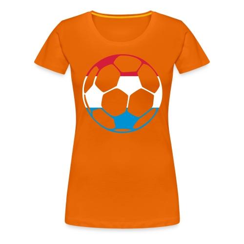 NL is WK 2010! - Vrouwen Premium T-shirt