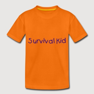 Survival Kid - Teenager Premium T-Shirt