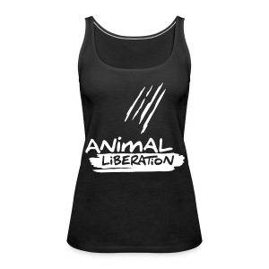 Womens Tank-Top  'Animal Liberation' - Frauen Premium Tank Top