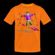Camisetas ~ Camiseta premium adolescente ~ TINA SKI