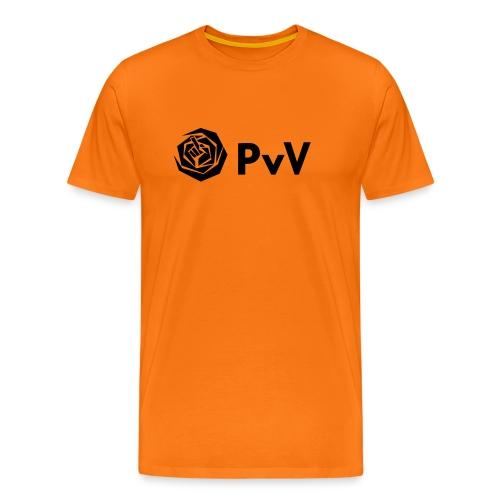 PvdA/PvV zwart - Mannen Premium T-shirt