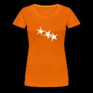 T-Shirts ~ Frauen Premium T-Shirt ~ Shirt Sterne Weiß GIRL