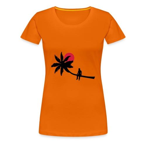 Palm boy - Vrouwen Premium T-shirt