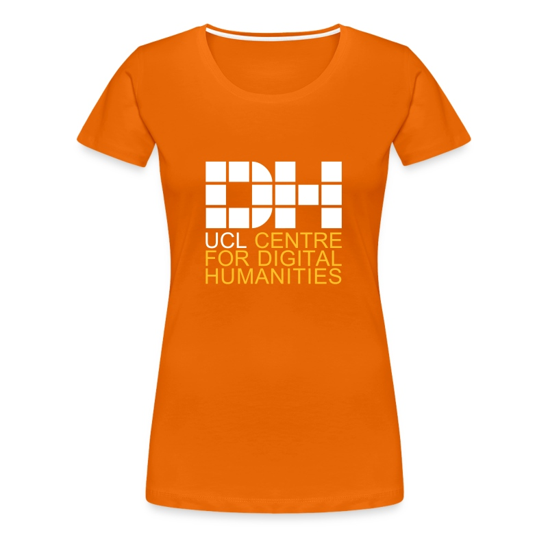 DH UCL captioned remix - Women's Premium T-Shirt