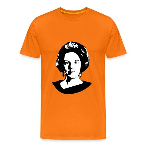 Koningin  - Mannen Premium T-shirt