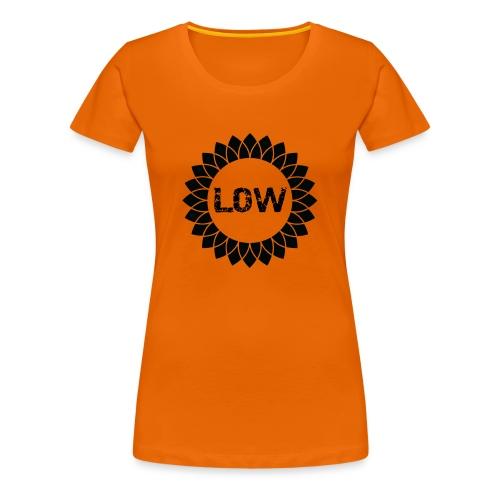 Low - Sunflower - Women's Premium T-Shirt