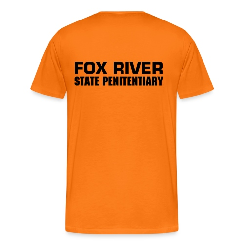 Prison Break - Fox River - Men's Premium T-Shirt