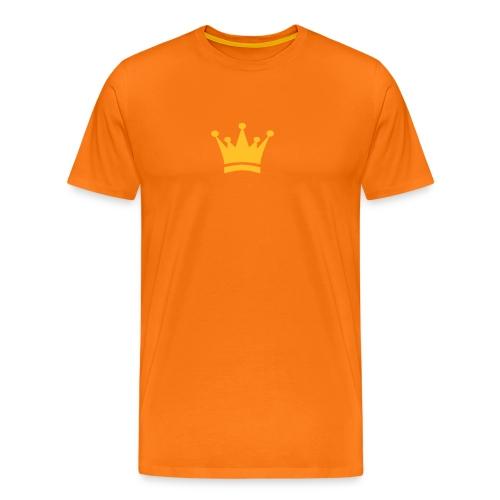 Shirt met kroon - Mannen Premium T-shirt