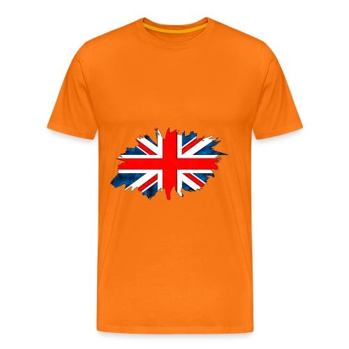 Union Flag Torn - Men's Premium T-Shirt