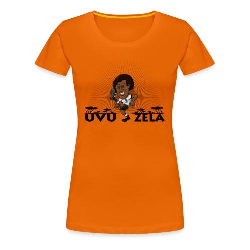 UVUZELA Damen Shirt (schwarz) - Frauen Premium T-Shirt