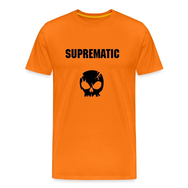 Suprematic crane - orange - homme std - T-shirt Premium Homme