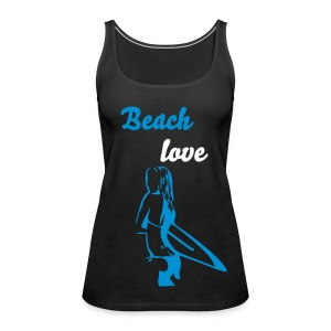 beach top - Vrouwen Premium tank top