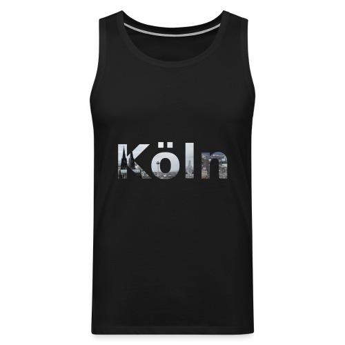 Männer-Muscle-Shirt Köln - Männer Premium Tank Top