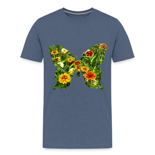 Kinder T-Shirt Schmetterling - Teenager Premium T-Shirt