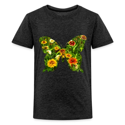 Kinder T-Shirt Schmetterling - Teenager Premium T-Shirt