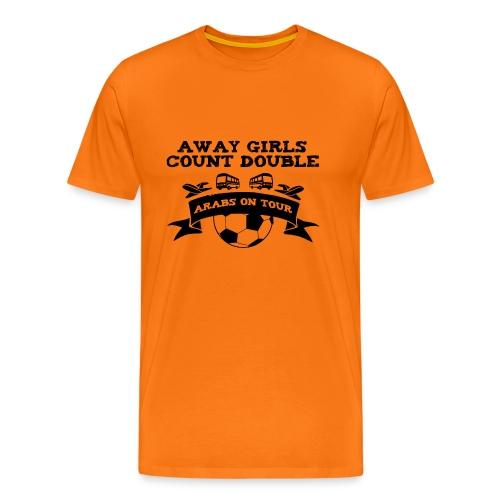 Away Girls Count Double - Men's Premium T-Shirt