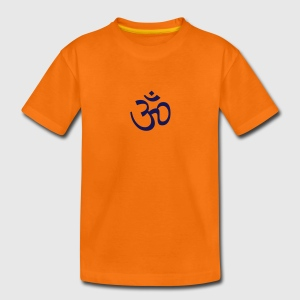 Oranje om (1c) Kinder shirts - Teenager Premium T-shirt