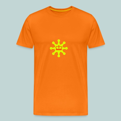 Acht Bauern schützen König - Männer Premium T-Shirt