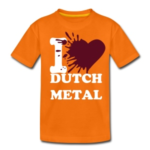 I love dutch metal (Large colour selection available) - Teenage Premium T-Shirt