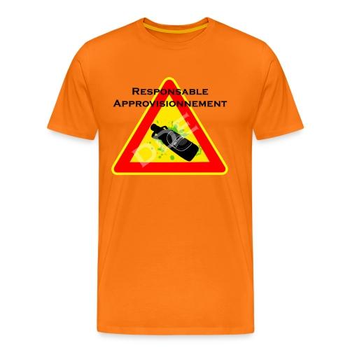 DDE - Responsable Approvisionnement - T-shirt Premium Homme