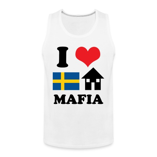 I Love Swedish House Mafia Tank - Men's Premium Tank Top
