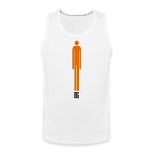 Big basketball player - Men's Premium Tank Top