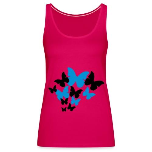 TOP MARIPOSAS - Camiseta de tirantes premium mujer