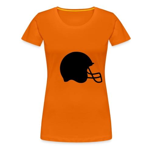 Damen Shirt Football - Frauen Premium T-Shirt