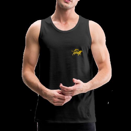 Männer Muskelshirt schwarz Fabelwesen - Männer Premium Tank Top