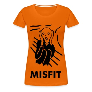 Misfit Scream - Women's Premium T-Shirt