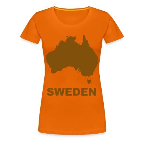 Magellan - Premium-T-shirt dam