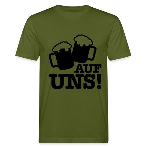 Auf UNS ! - Männer Bio-T-Shirt