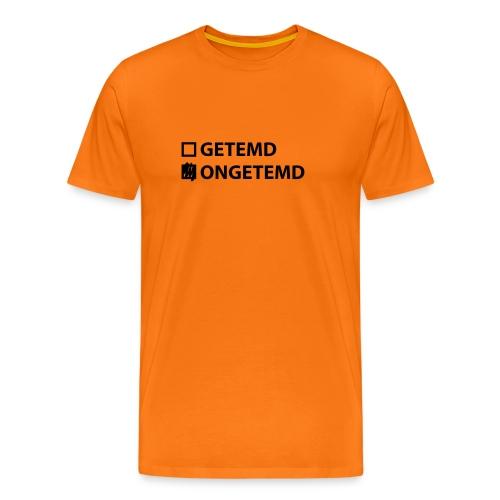 Landmacht T-shirt Ongetemd - Mannen Premium T-shirt