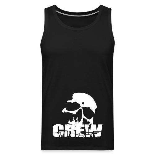 NFB Supporter linne The Skull Crew - Premiumtanktopp herr