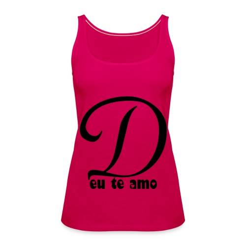 rose top - Vrouwen Premium tank top