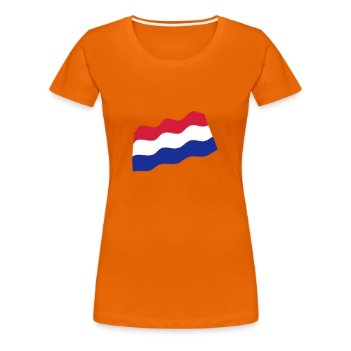 Nederland - Vrouwen Premium T-shirt